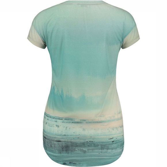 O'Neill LW Sublimation Print T-Shirt Dames Middenroze/Assortiment