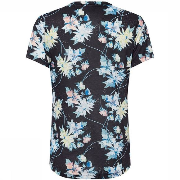 O'Neill Sublimation Print T-Shirt Dames Middengrijs