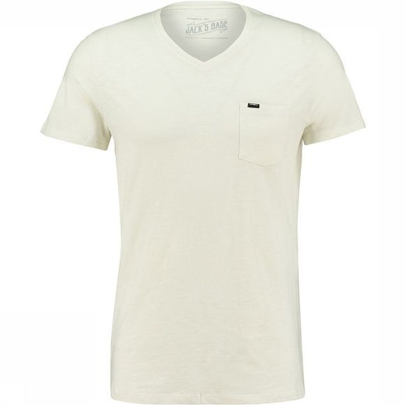 O'Neill LM Jacks Base V-Neck T-Shirt Wit