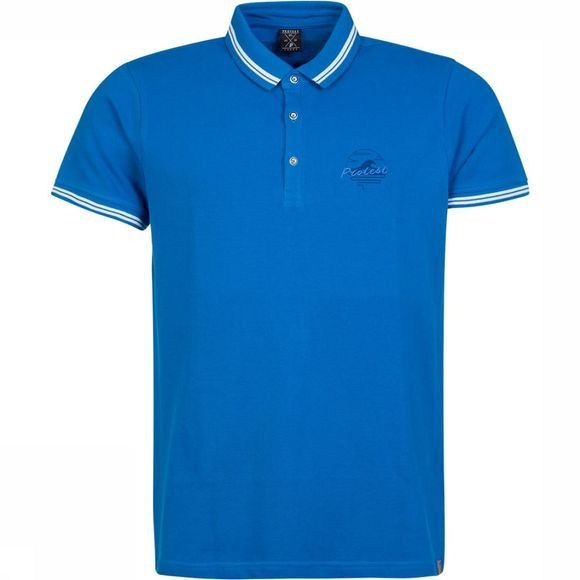 Protest Ted Polo Middenblauw