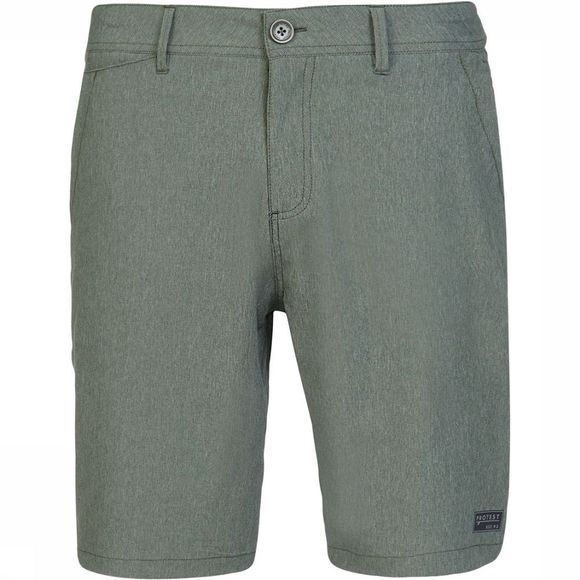 Protest Broxted Surfable Shorts Donkergroen