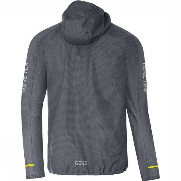 Gore Wear C5 GTX Active Trail Hooded Jas Middengrijs