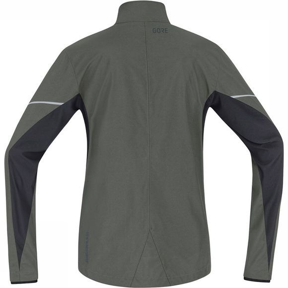 Gore Wear Partial Gore Windstopper Jas Donkergrijs