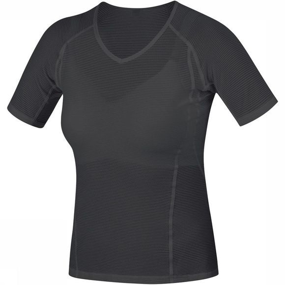 Gore Wear M Base Layer Shirt Dames Zwart