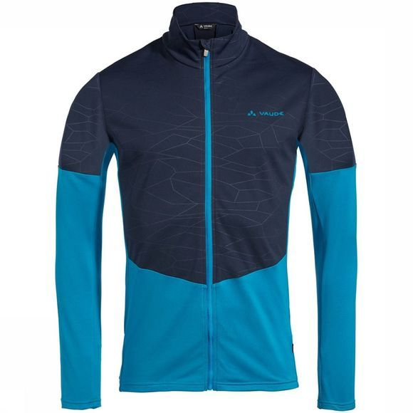 Vaude All Year Moab Shirt Middenblauw/Donkerblauw