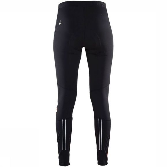 Craft Velo Thermal Wind Tight Dames Zwart/Middenroze