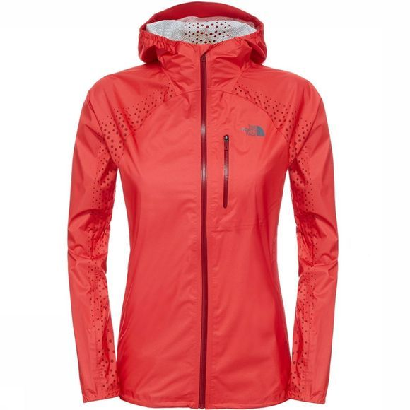 The North Face Flight Jas Dames Rood