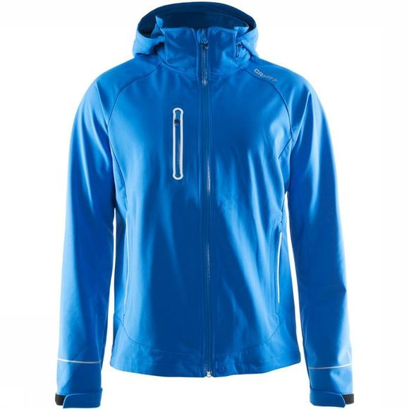 Craft Cortina Soft Shell Jas Lichtblauw