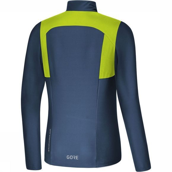 Gore Wear R5 GWS Long Sleeve Shirt Dames Lime/Donkerblauw