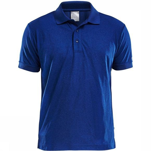 Craft Piqué Polo Donkerblauw