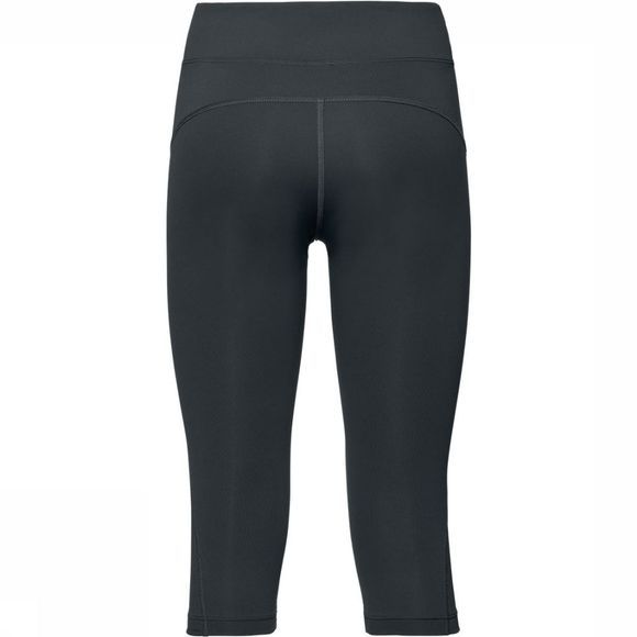 Odlo Core Light 3/4 Tight Dames Zwart/Donkergrijs