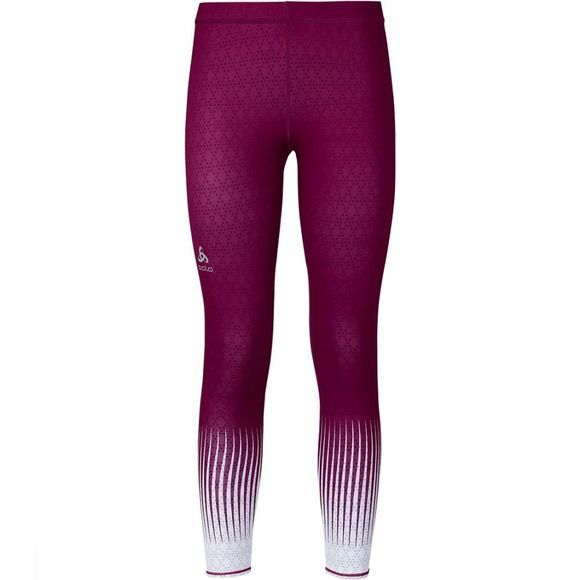 Odlo Ebe Insideout Tights Dames Donkerpaars