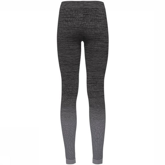 Odlo Maia Bottom Long Legging Dames Donkergrijs/Zwart
