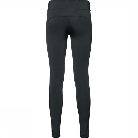 Odlo Long Core Warm Tight Dames Zwart/Donkergrijs