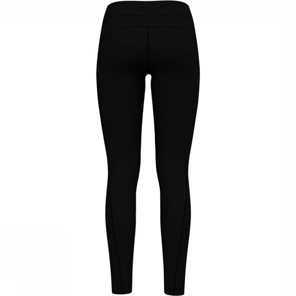Odlo Long Core Light Tight Dames Zwart/Donkergrijs