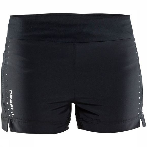 "Craft Essential 5"" Short Dames Zwart"