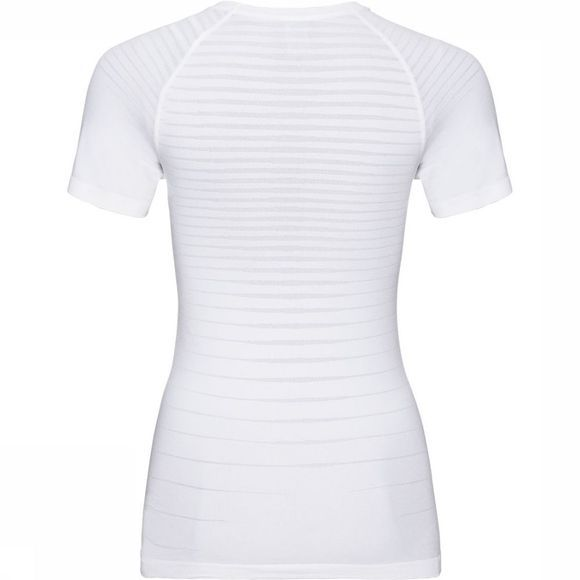 Odlo SUW Performance Light SS Crew Neck Top Dames Wit
