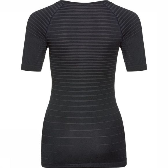 Odlo SUW Performance Light SS Crew Neck Top Dames Zwart