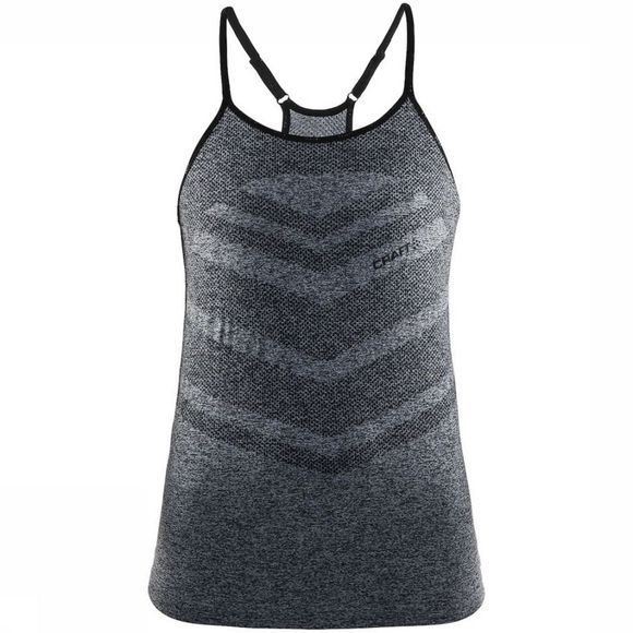 Craft Cool Comfort Singlet Top Dames Donkergrijs Mengeling