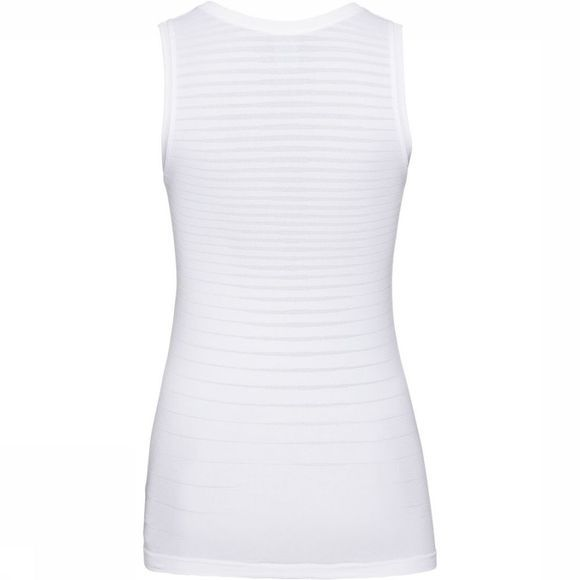 Odlo SUW Crew Neck Performance Light Singlet Top Dames Wit