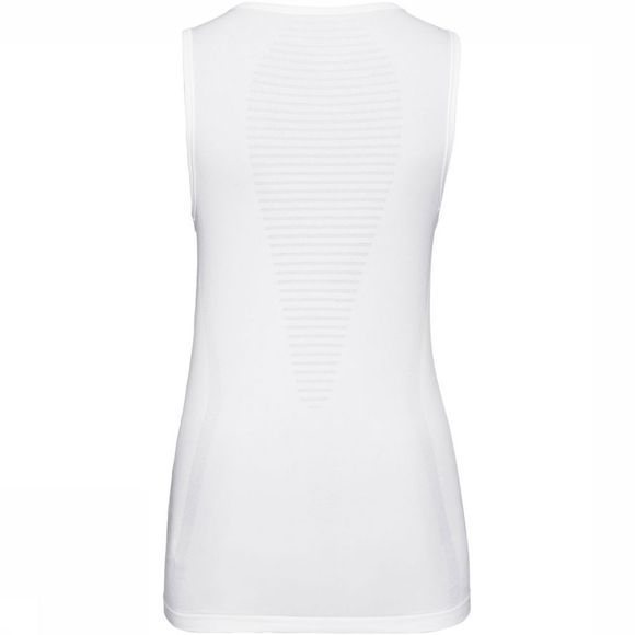Odlo SUW Performance X-Light V-Neck Singlet Dames Wit