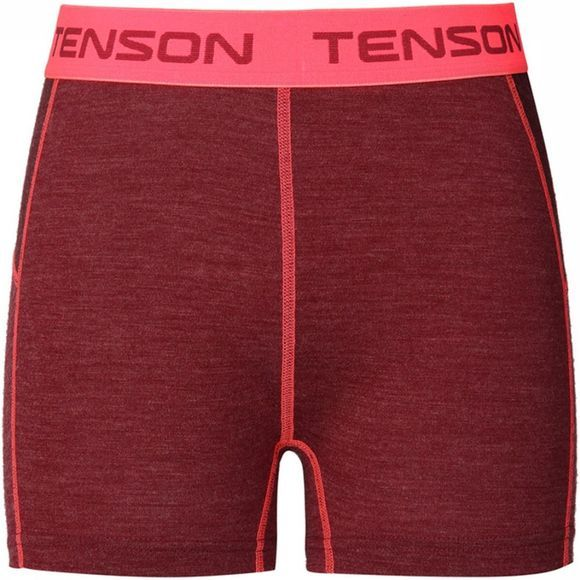 Tenson Maia Boxer Dames Donkerrood