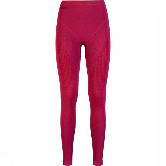 Odlo Evolution Warm Broek Dames Bordeaux