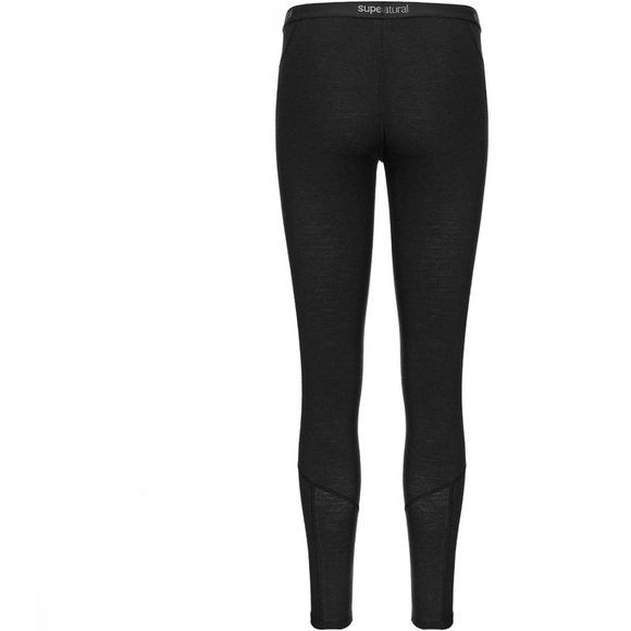 Supernatural Base 175 Legging Dames Donkergrijs