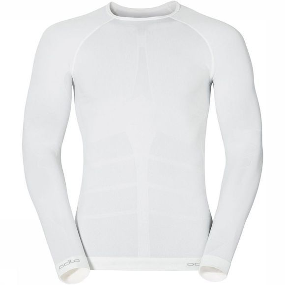 Odlo Evolution Warm Crew Neck Shirt Wit