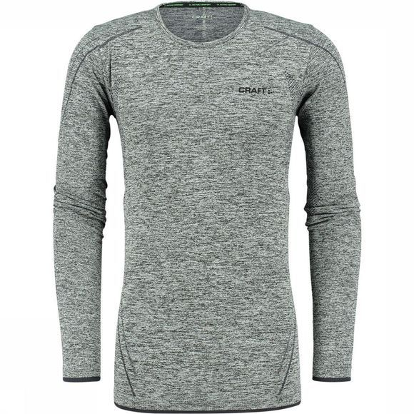 Craft Elastisch thermoshirt Zwart