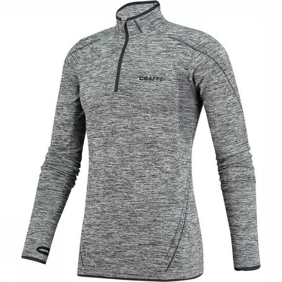Craft Active Comfort Zip Shirt Zwart