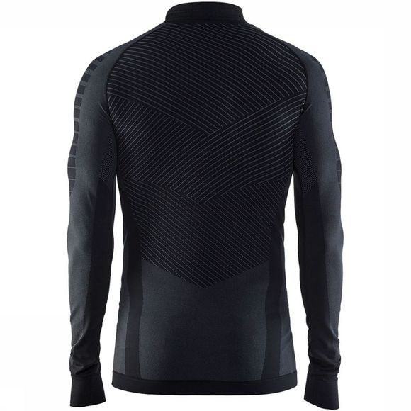 Craft Active Intensity Zip Shirt Zwart/Donkergrijs
