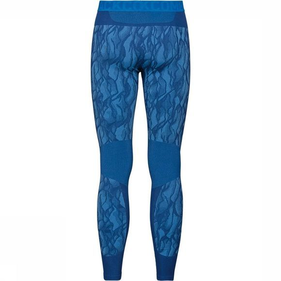 Odlo Performance Blackcomb Legging Blauw/Zwart