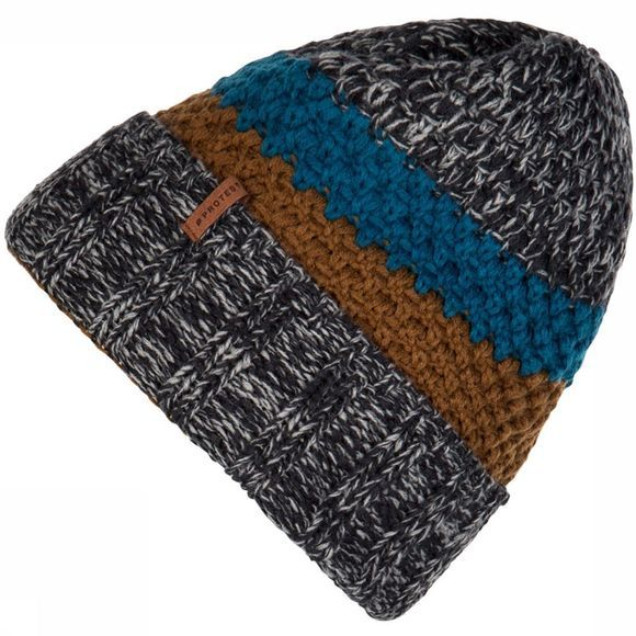 Protest Chesley Beanie Muts Donkergrijs