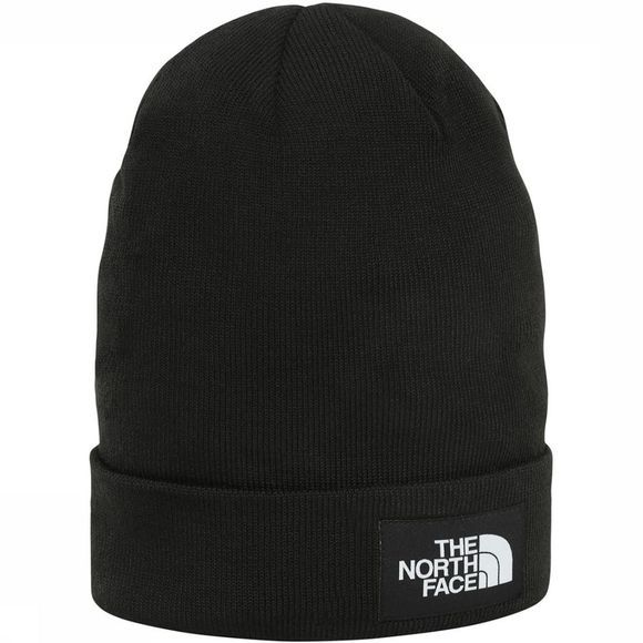 The North Face Gerecyclede Dock Worker Beanie Zwart