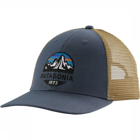 Patagonia Fitz Roy Scope Lo Pro Trucker Pet Blauw