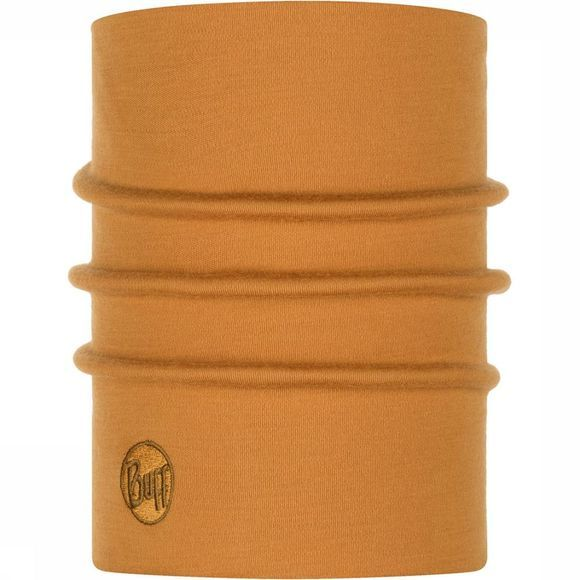 Buff Heavyweight Merino Wool Solid Camel Kameelbruin