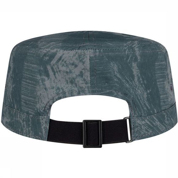 Buff Military Cap Rinmann Pewter Grey Middengrijs