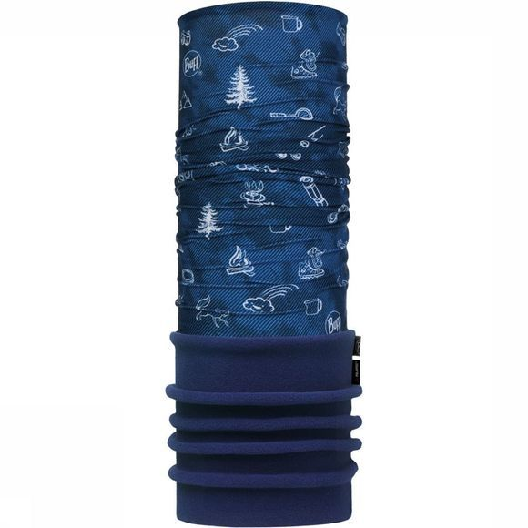 Buff Child Polar Funny Camp Navy Buff Junior Donkerblauw/Blauw