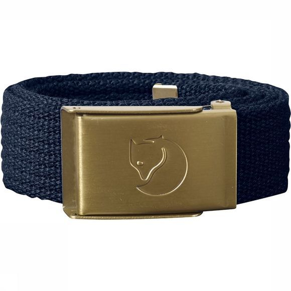 Fjällräven Canvas Riem Junior Donkerblauw