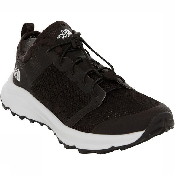 The North Face Litewave Flow Lace II Schoen Dames Zwart/Wit