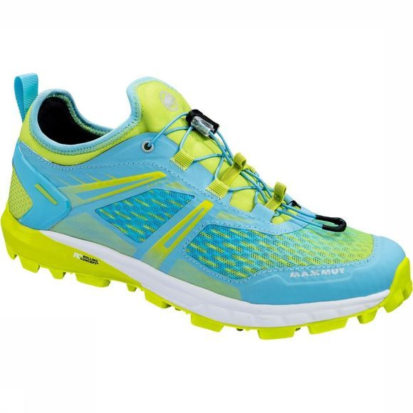 Mammut Sertig Low Schoen Dames Turkoois/Lime