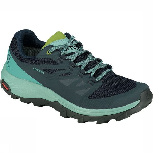 Salomon Outline GTX Schoen Dames Marineblauw