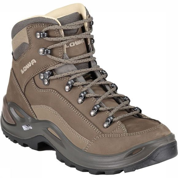 Lowa Renegade LL Mid Leather Schoen Dames Taupe