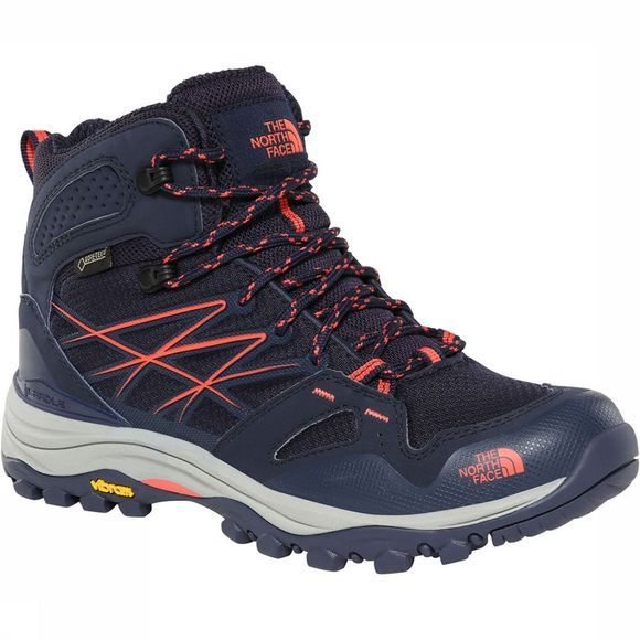 The North Face Hedgehog Fastpack Mid GTX Schoen Dames Donkerblauw/Middenroze