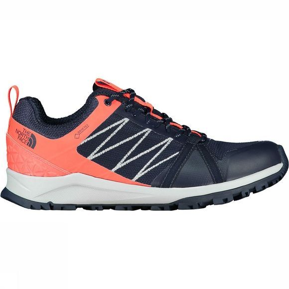 The North Face Litewave Fastpack II GTX Schoen Dames Donkerblauw/Oranje