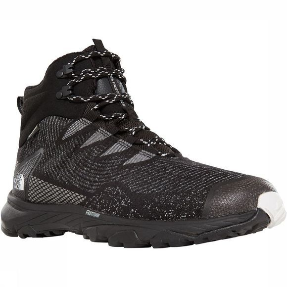 The North Face Ultra Fastpack III Mid GTX Woven Schoen Zwart/Wit
