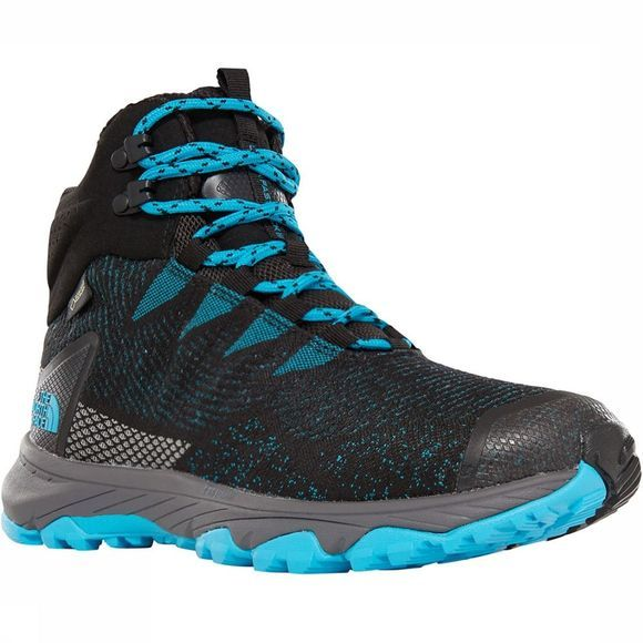 The North Face Ultra Fastpack III Mid GTX Woven Schoen Dames Donkerblauw/Lichtblauw