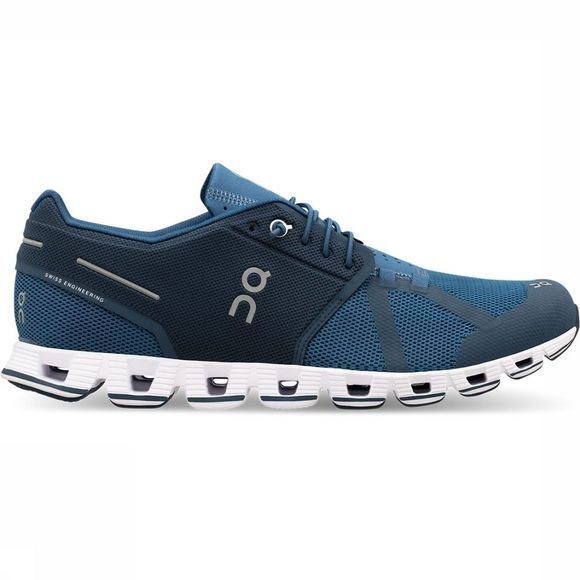 On Running Cloud Schoen Donkerblauw/Middenblauw