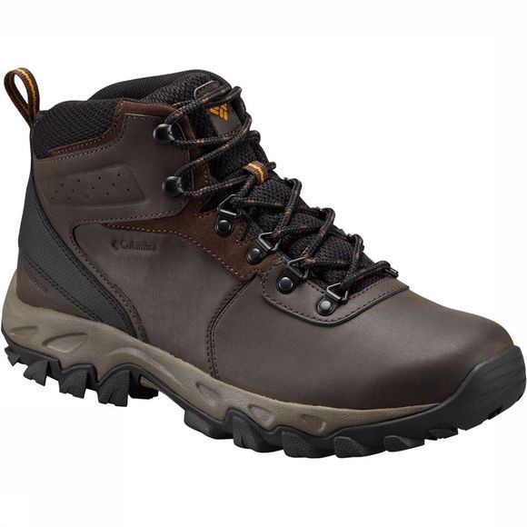 Columbia Newton Ridge Plus II Waterproof Schoen Donkerbruin